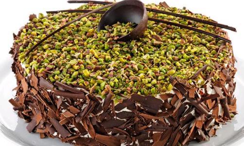 Fıstıklı ve Çikolatalı Pasta Yapımı