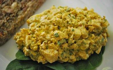 Körili Yumurta Salatası