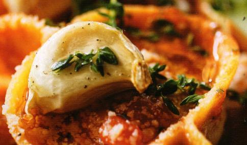 Közlenmiş Patlıcanlı Ravioli
