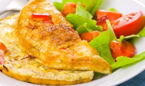 yumurtali omlet