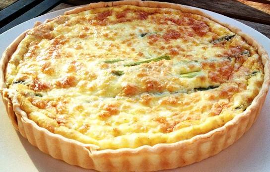 Beyaz Peynirli Maydonozlu Tart