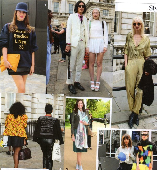 Londra Moda Haftasında Sokak Stilleri