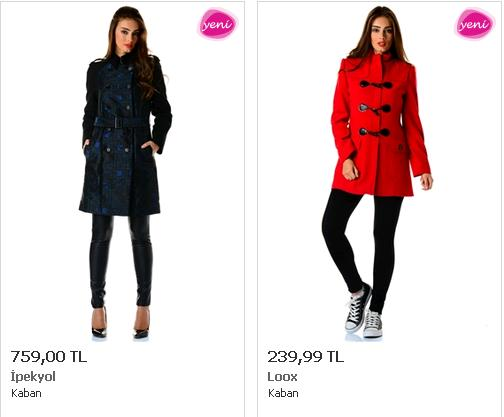Palto Modelleri Bayan
