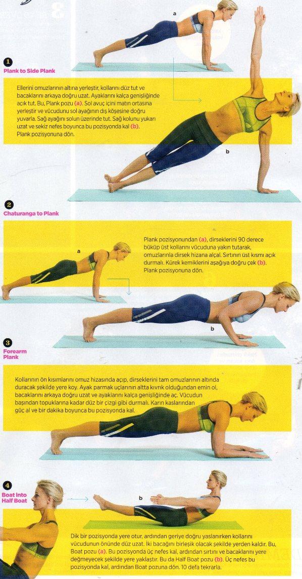 Dümdüz Karın İçin 15 Dakika Yoga Egzersizi
