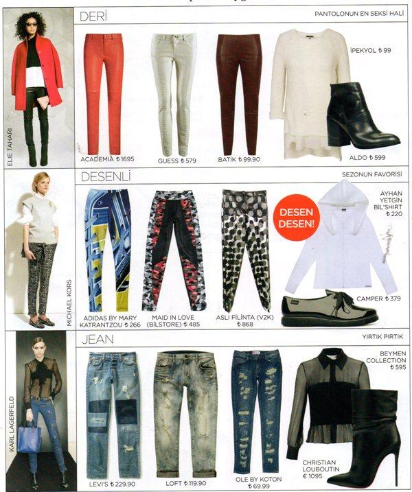Günlük Pantolon Modelleri