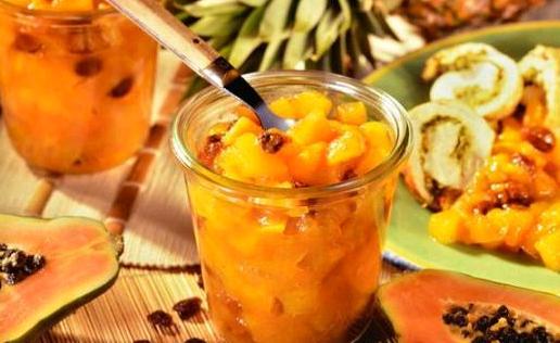 Ananas Chutney-Yoğurt Sosu