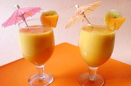 Papaya-Muz Smoothie