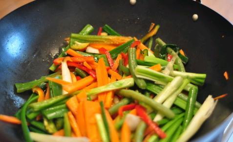 Sebze pişirmek önemlidir. Yanlış pişirirsen sadece posa yersin