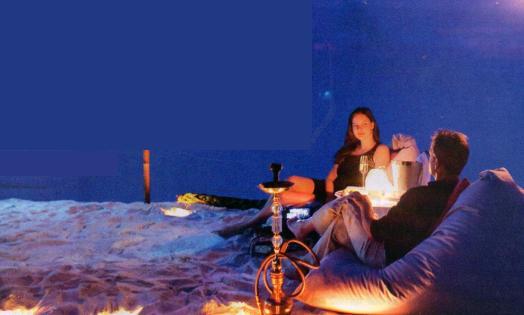 beyaz kumda romantik