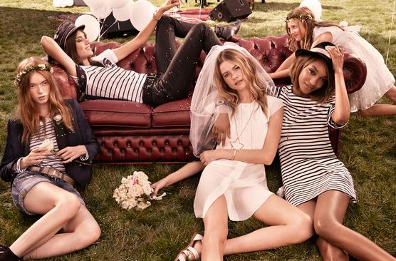 Tommy Hilfiger, 2015 ilkbahar-yaz modelleri
