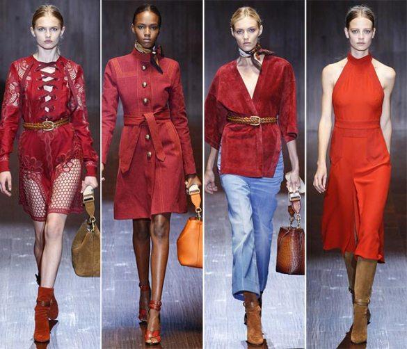 Gucci 2015 ilkbahar-yaz koleksiyonu