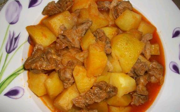 Kavurmalı Patates Yemeği Tarifi