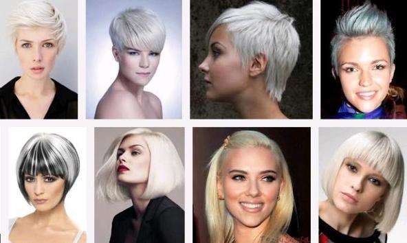 Gençlerin Yeni Saç Tercihi Beyaz Saçlar