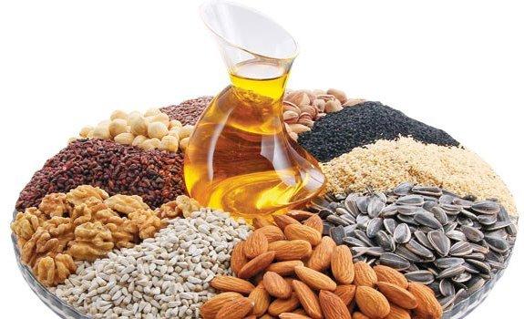 Kanola, mısırözü, ayçiçeği, soya, pamuk, fındık vb. yağlar