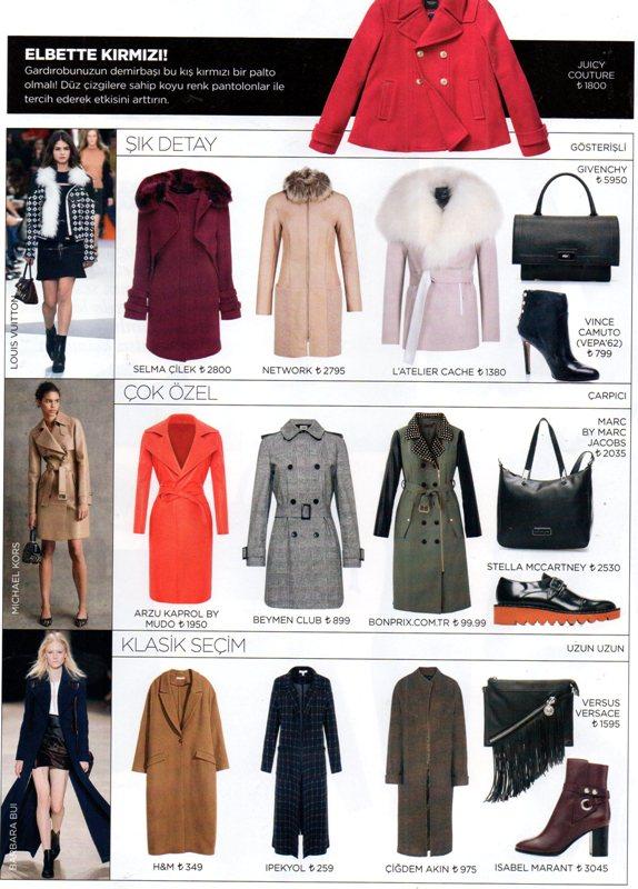 2015-2016 Sonbahar Kış Stil Önerileri