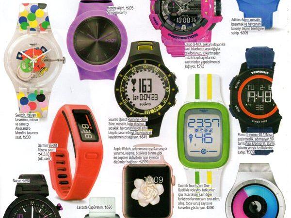 Birbirinden özel tasarımları ile saatler