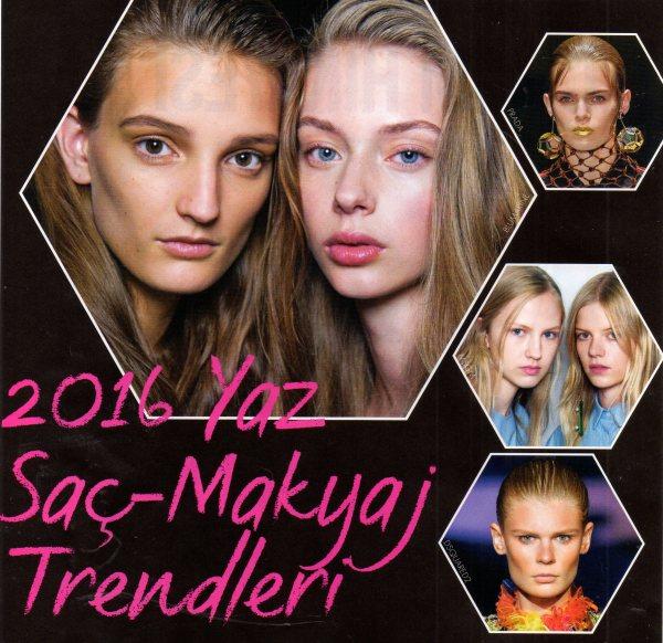 2016 Yaz Saç Trendleri