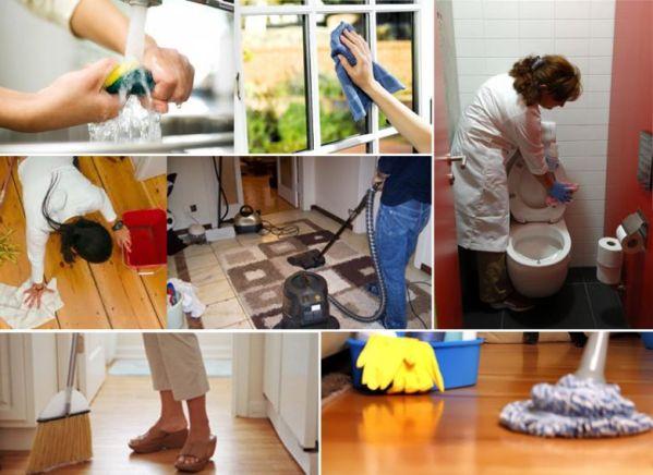 Ev temizliğinin püf noktaları