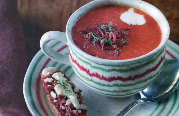 Zencefilli pancar çorbası nasıl yapılır?