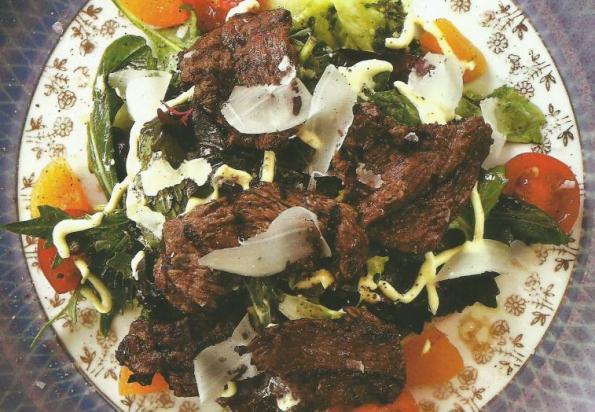 Izgara bonfile salatası tarifi