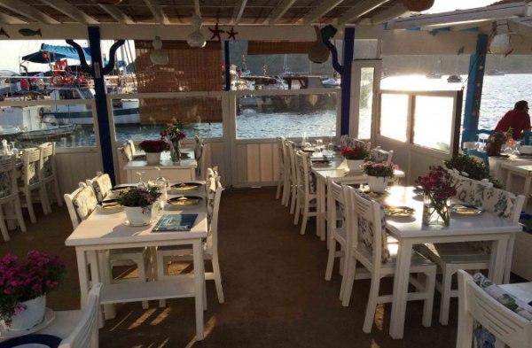 Gümüşlük'ün gözde balık restoranı