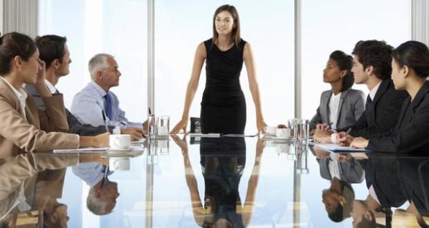 İş dünyasında kadının varlığını görmek
