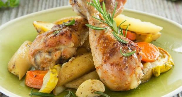 Tavuk Yemeği ve Salatası