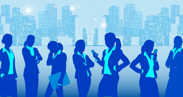 Kadınlar iş hayatında giderek daha fazla yer alıyor