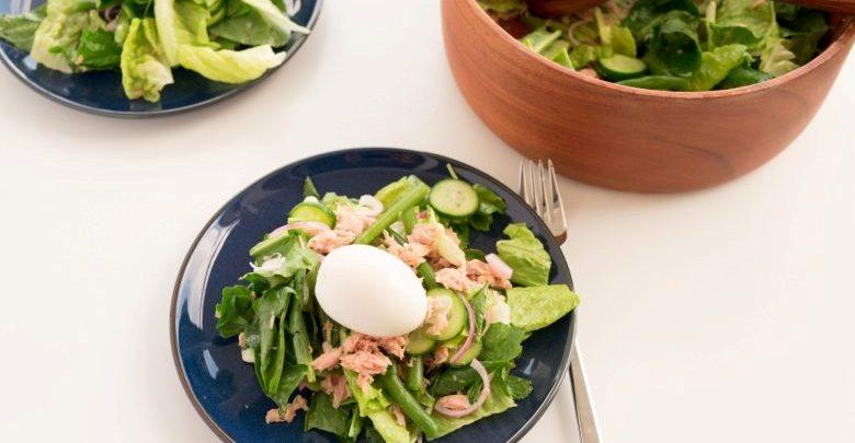 Nice Usulü Ton Balığı Salatası