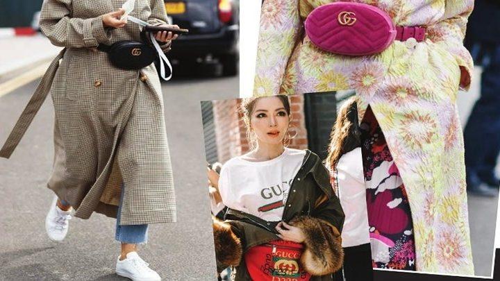 Bel çantaları bir kere daha trend oldu